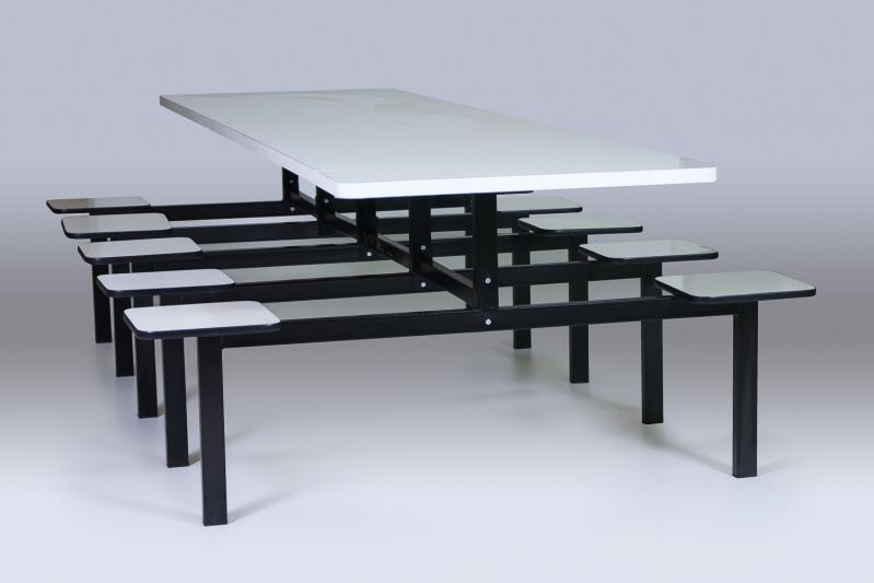 Conjunto de Mesas e Cadeiras para Refeitórios na Vila Formosa - Mesa para Refeitório de Obra