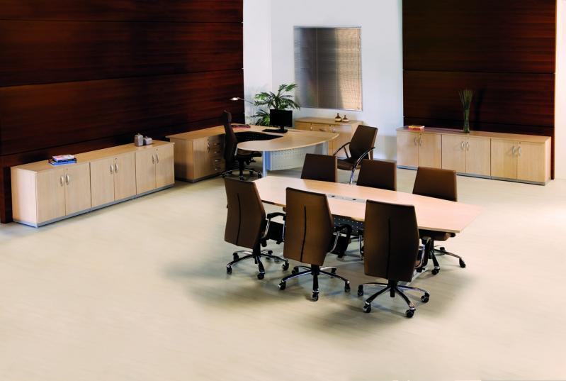 Mesa Oval para Escritórios no Grajau - Mesas para Escritório