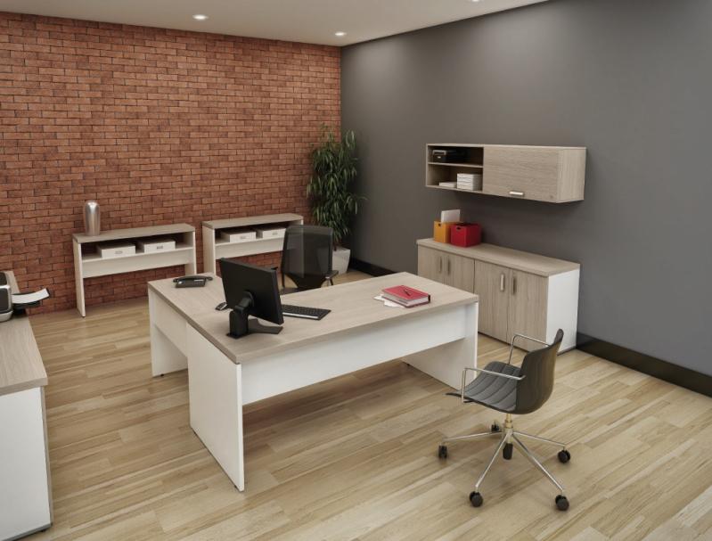 Mesas para Escritório em L no Cursino - Mesas para Escritório