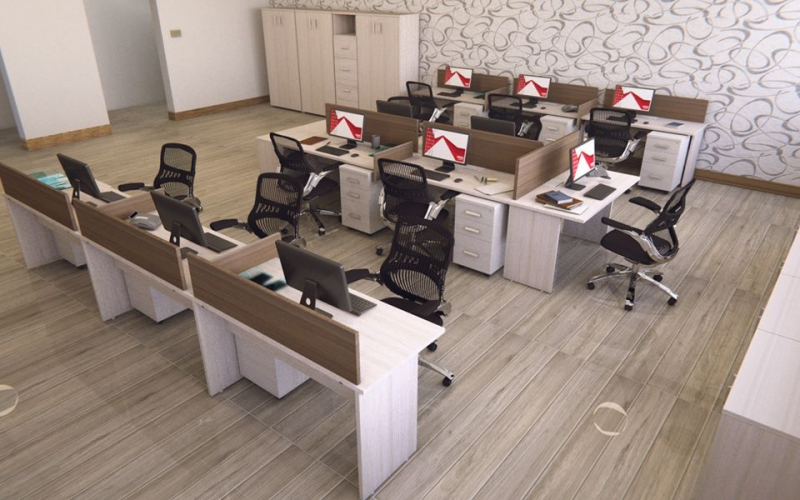 Onde Encontrar Estação de Trabalho em MDP em Alphaville Residencial Plus - Estação de Trabalho de Canto