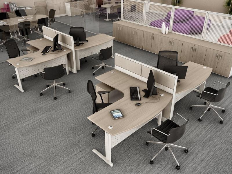 Onde Encontrar Estação de Trabalho para Escritório na Califórnia - Estação de Trabalho de Canto