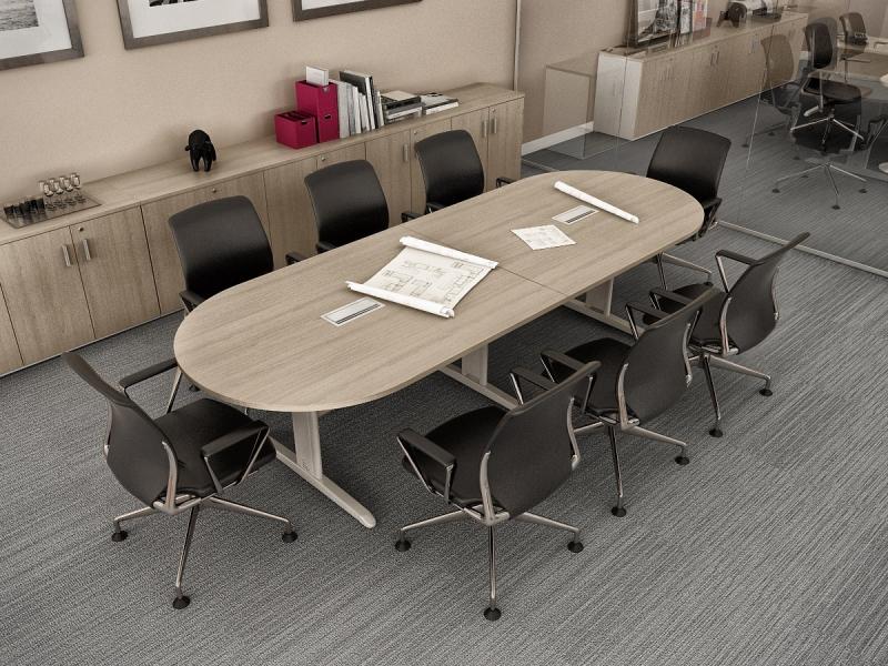 Onde Encontrar Mesa Oval para Escritório no Jardins - Mesas para Escritório