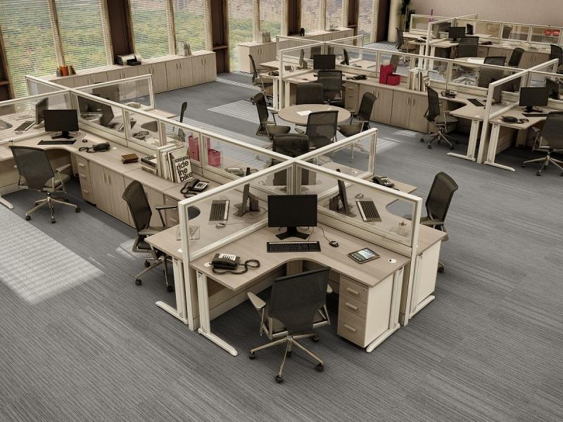 Quanto Custa Estação de Trabalho Tipo Baia no Butantã - Estação de Trabalho 6 Lugares