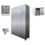 bancos e armários para vestiários preço na Vila Mazzei