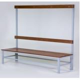 banco de madeira para vestiário