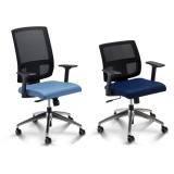 cadeiras para escritório com encosto em tela na Mooca