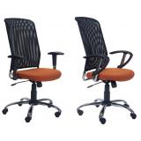 cadeira para escritório com encosto em tela