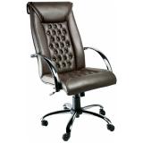 cadeiras para escritórios de couro em São Domingos