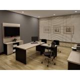 mesa executiva para escritório preço em Sapopemba