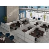 mesa para escritório com baia preço no Residencial Doze