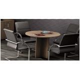 mesa redonda para escritório preço na Sé