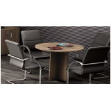 mesa redonda para escritório preço Jardim Tupanci