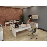 mesas para escritório em l no Cursino