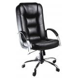 onde encontrar cadeira para escritório de couro em Glicério