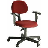 onde encontrar cadeira secretaria para escritório no Parque São Rafael