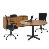 onde encontrar mesa redonda para reunião no Residencial Sete