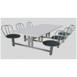 onde encontrar mesas e cadeiras para refeitório escolar no Parque São Rafael