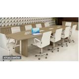 quanto custa mesa oval para escritório no Residencial Seis