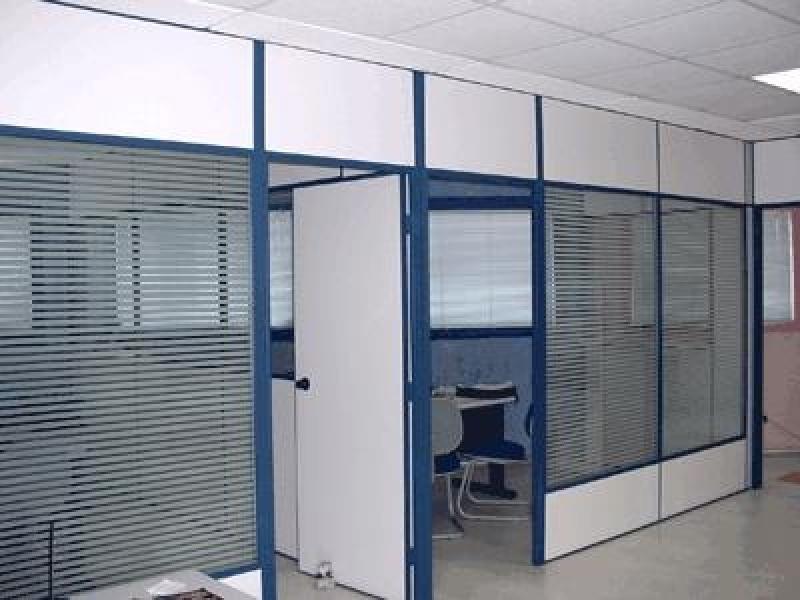 Divisórias para Escritório de Eucatex no Alphaville Residencial Dois - Divisória para Escritório de Madeira