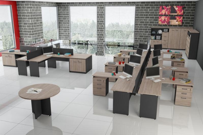 Estação de Trabalho de Madeira Preço no Residencial Nove - Estação de Trabalho em SP