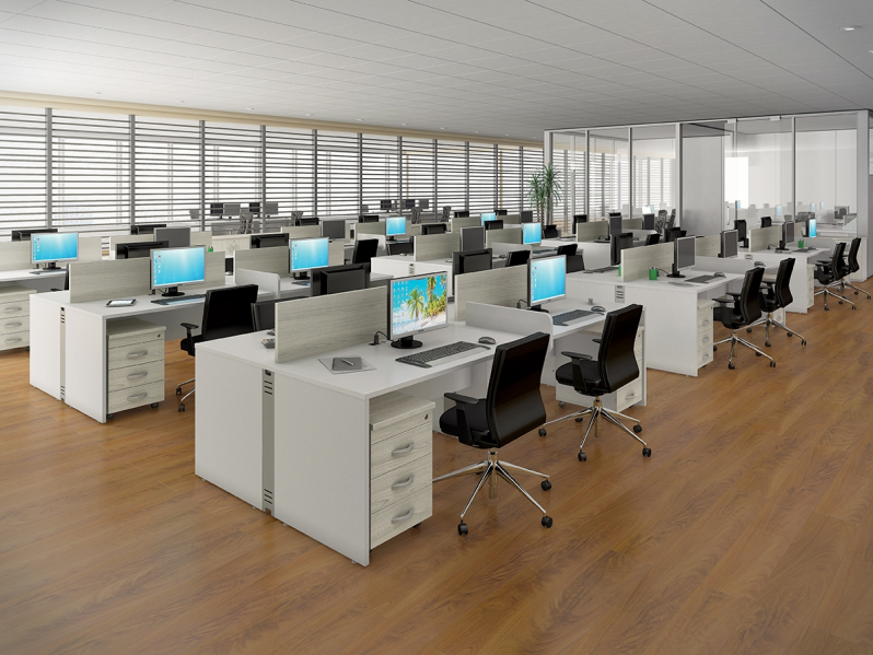 Estação de Trabalho para Escritório Preço na Vila Medeiros - Estação de Trabalho de Madeira