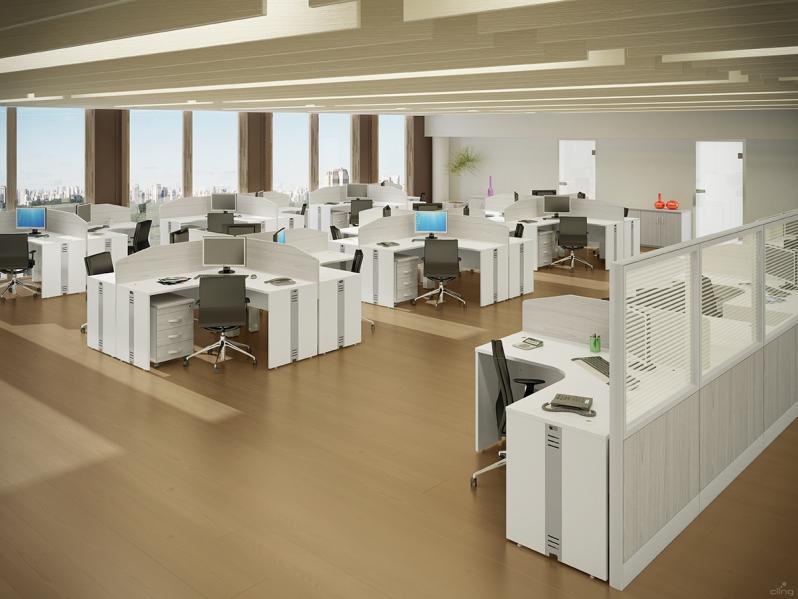 Estação de Trabalho Tipo Ilha Preço na Consolação - Estação de Trabalho em MDP