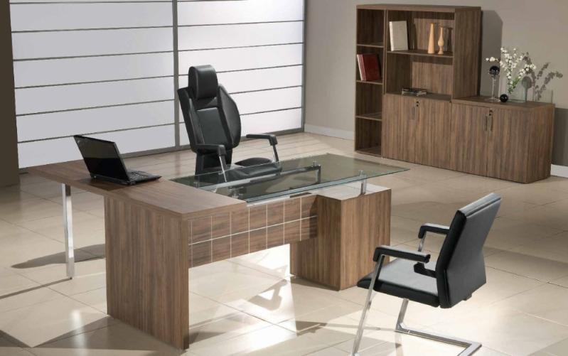 Mesa em L em SP Preço na Boa Vista - Mesa para Escritório em L com Gavetas