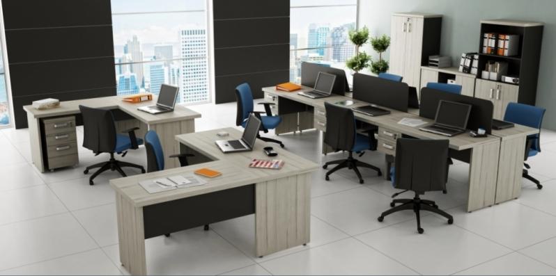 Mesa Operacional para Escritório em Interlagos - Mesas para Escritório