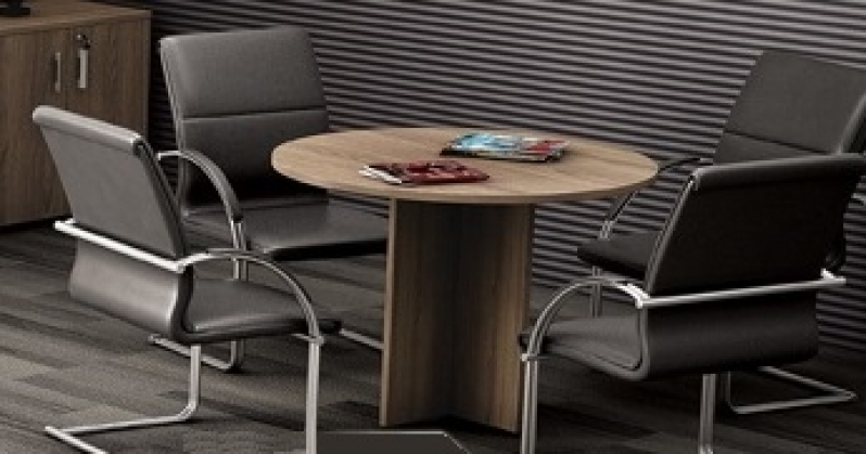 Mesa Redonda para Reunião Preço em Aricanduva - Mesas para Escritório