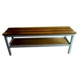 banco para vestiário feito de madeira preço em Belém