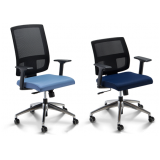 cadeiras para escritório com encosto em tela em Belém