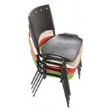 cadeiras para escritórios de plástico na Vila Esperança