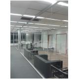 divisórias para escritório de vidro preço no Parque dos carmargos