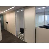 divisórias para escritório de vidro em Suzano