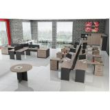 estação de trabalho de madeira preço no Residencial Doze