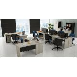 estação de trabalho em MDP no Alphaville Comercial