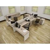estações de trabalho em MDP em Alphaville Residencial Plus