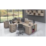 estação de trabalho para escritório