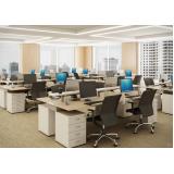 estações de trabalho para escritório no Limão