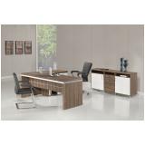 mesa de diretoria para escritório na Vila Anastácio