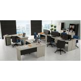 mesa para escritórios de canto na Cantareira