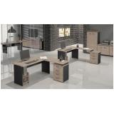 mesa para escritórios em l no Belenzinho