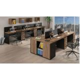 mesa plataforma para escritório preço em Perus