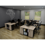 mesa plataforma para escritório no Cursino