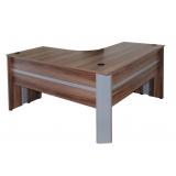 mesas para escritório em l pequena em Santo Amaro