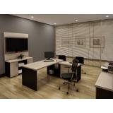 mesas para escritórios em SP em Santana