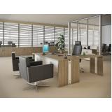 mesas retas para escritórios no Residencial Onze