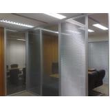 onde encontrar divisórias para escritório de vidro no Mandaqui