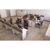 onde encontrar estação de trabalho 6 lugares na Vila Formosa