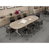 onde encontrar mesa oval para escritório no Ipiranga